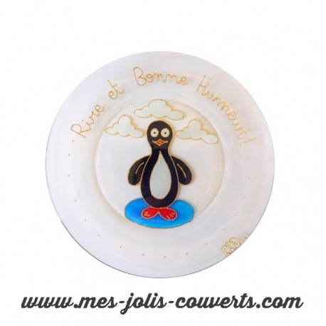 Assiette Pingouin