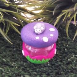 Boite à dent Souris violette
