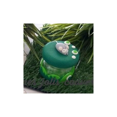 Boite à P'tite souris verte qui courait dans l' herbe! ;)