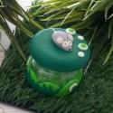 Boite à dent Souris verte